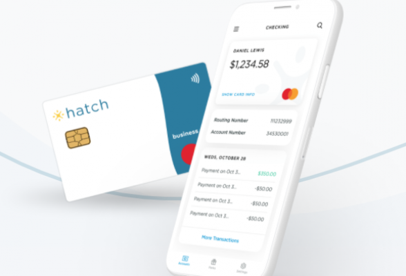 Starting Business Checking with Hatch Card