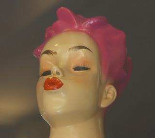 pink mannequin