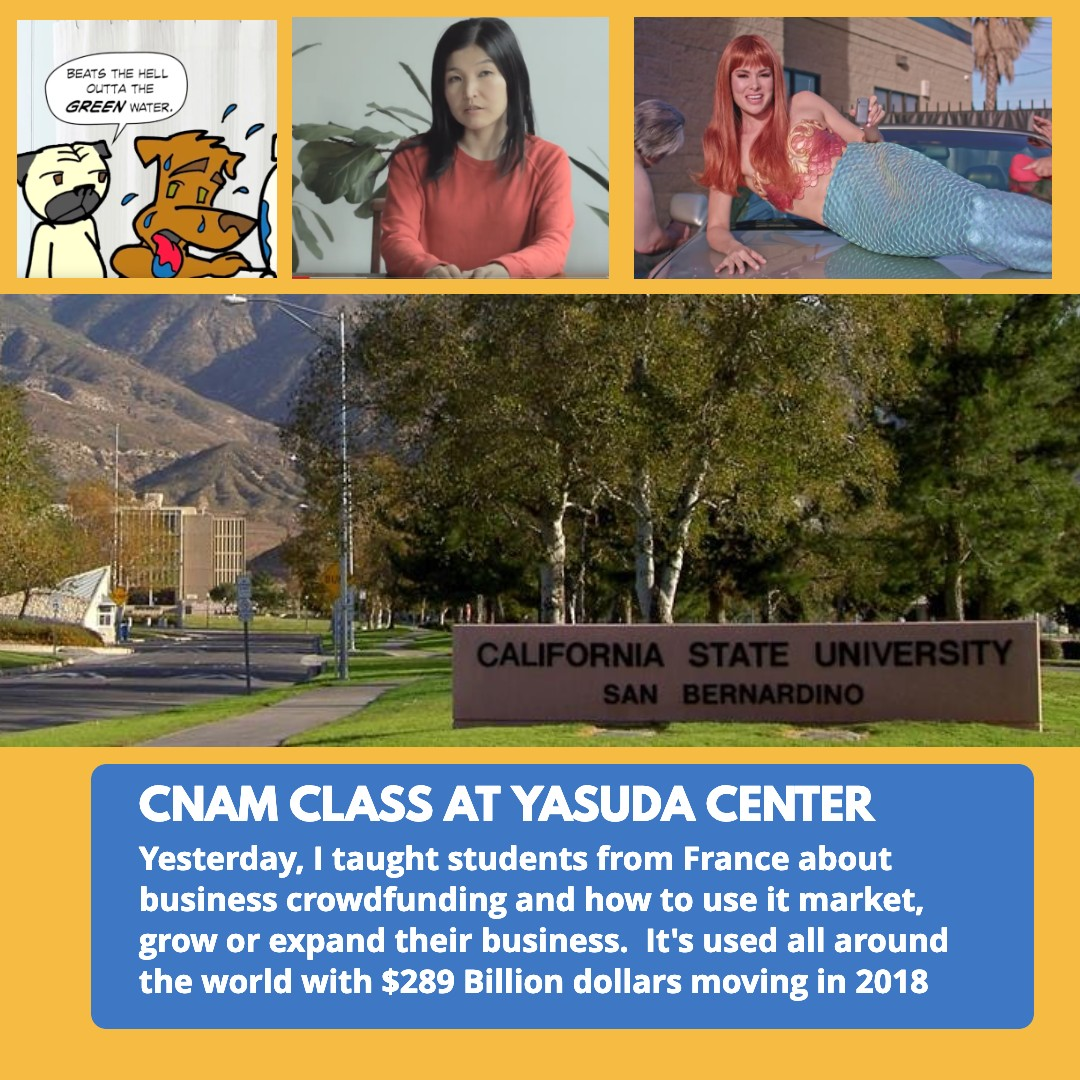 Business Crowdfunding at CSU San Bernardino