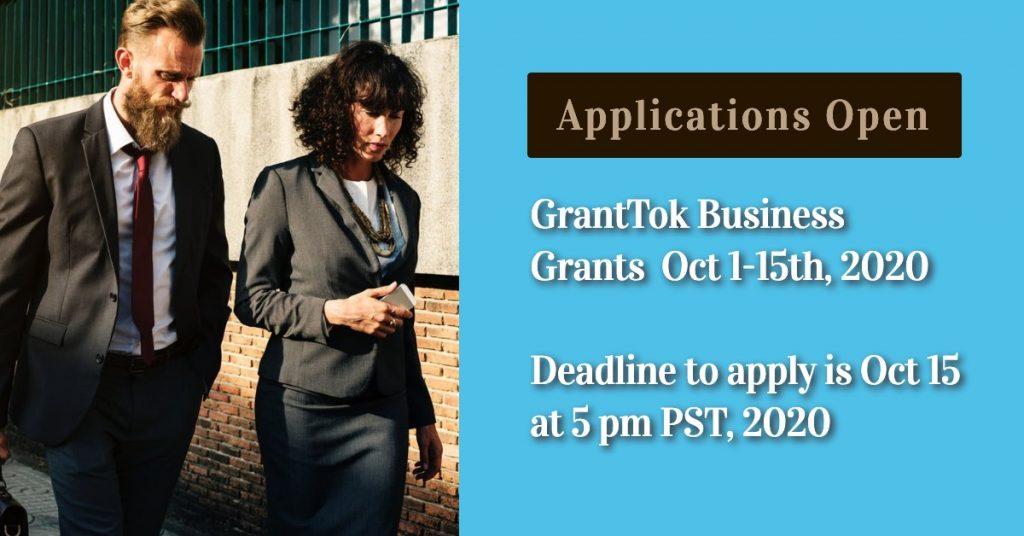 GrantTok Applications