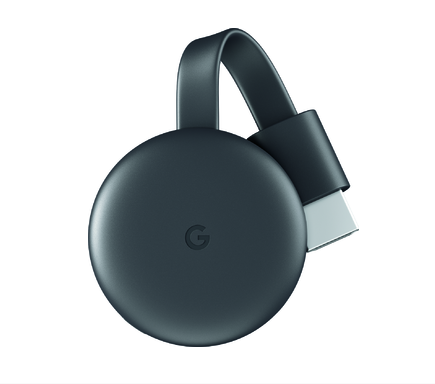 See it. Stream it.  Chromecast