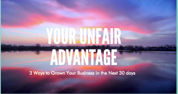 Unfair Advantage 30- Day Action Chart