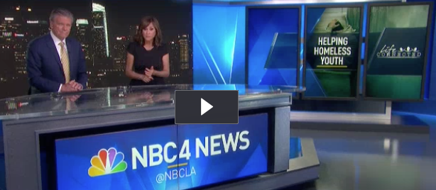 NBC4 Los Angeles, features Stand up for Kids