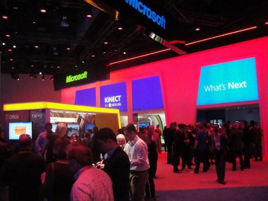 CES 2012 - Microsoft