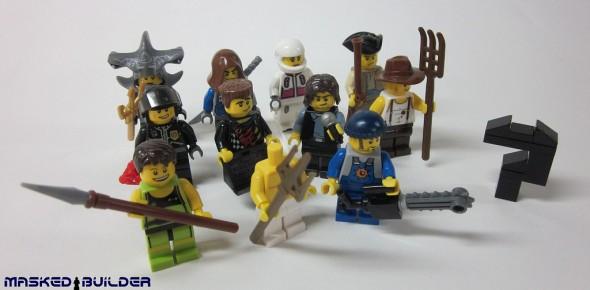 Eurobricks Series 1 - Collectible Minifigures WIP