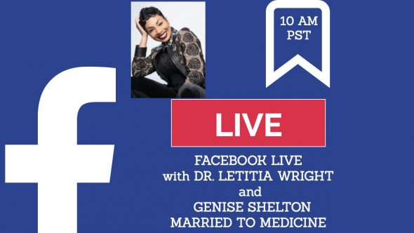 Genise Shelton with Dr. Wright on Facebook Live: Sex Trafficking